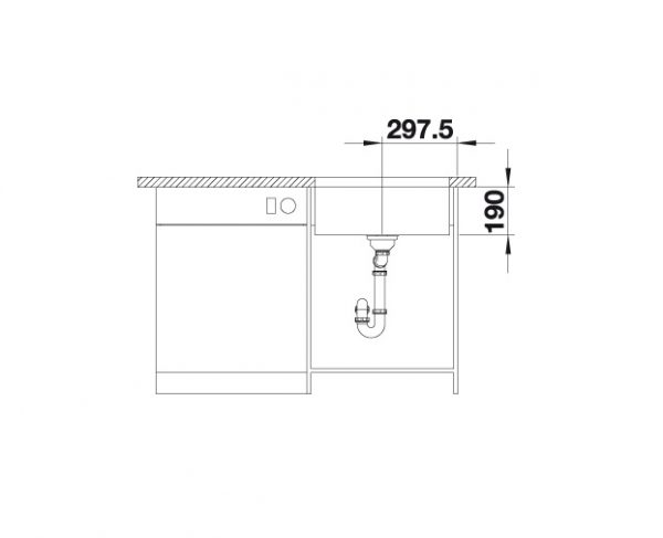 Blanco Cronos Xl 6-U 525024 Spoelbak Rvs Onderbouw